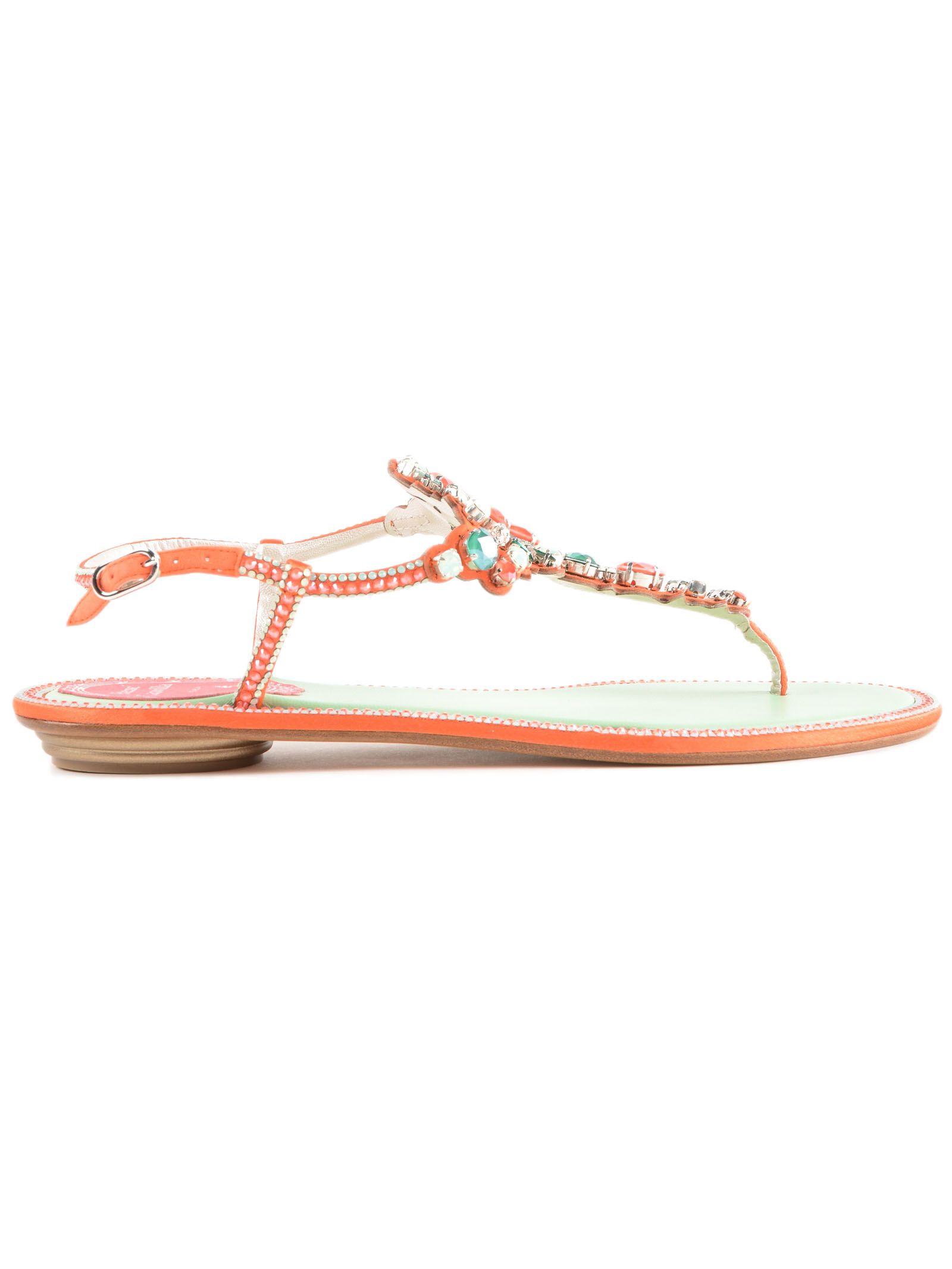 7b15fa9d0 RENÉ CAOVILLA Embellished Open-Toe Sandals