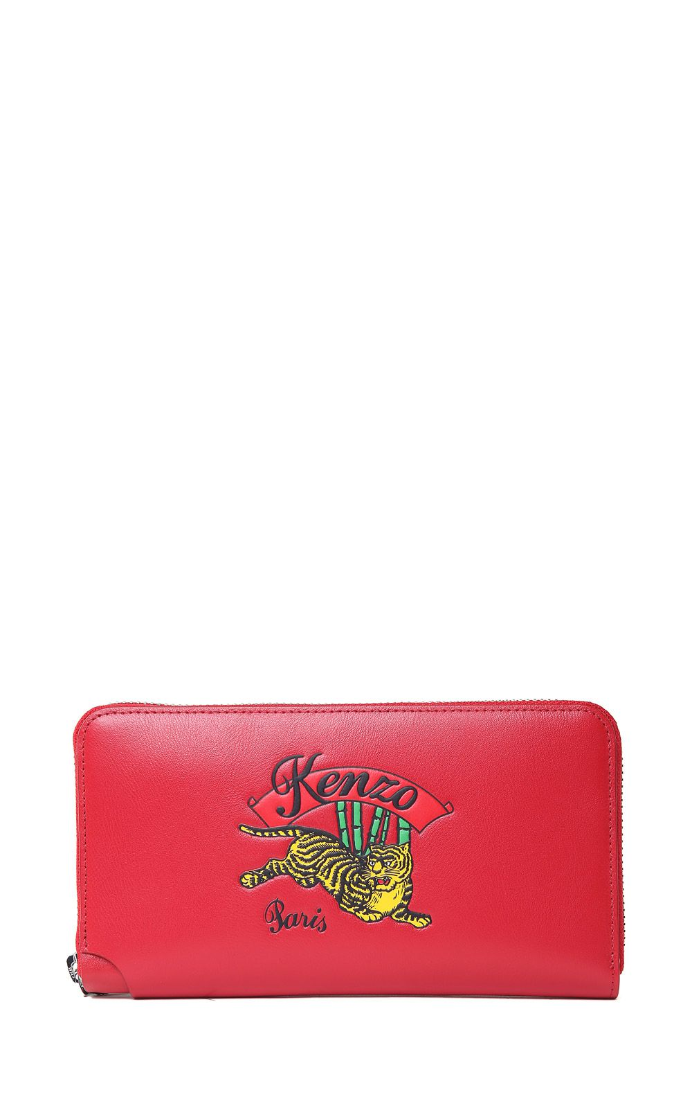 JUMPING TIGER LEATHER WALLET