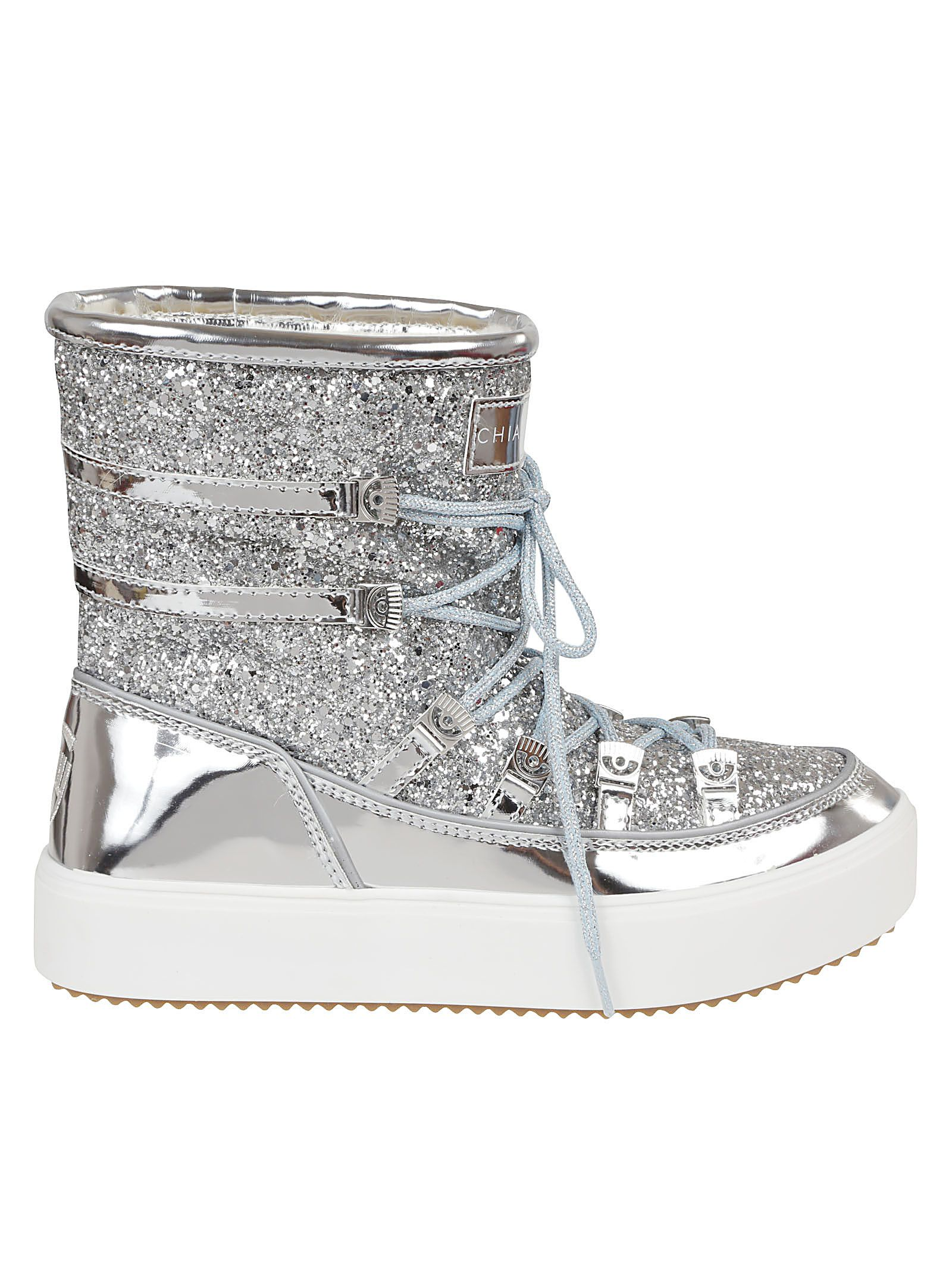 GLITTERED COATING SNOW BOOTS