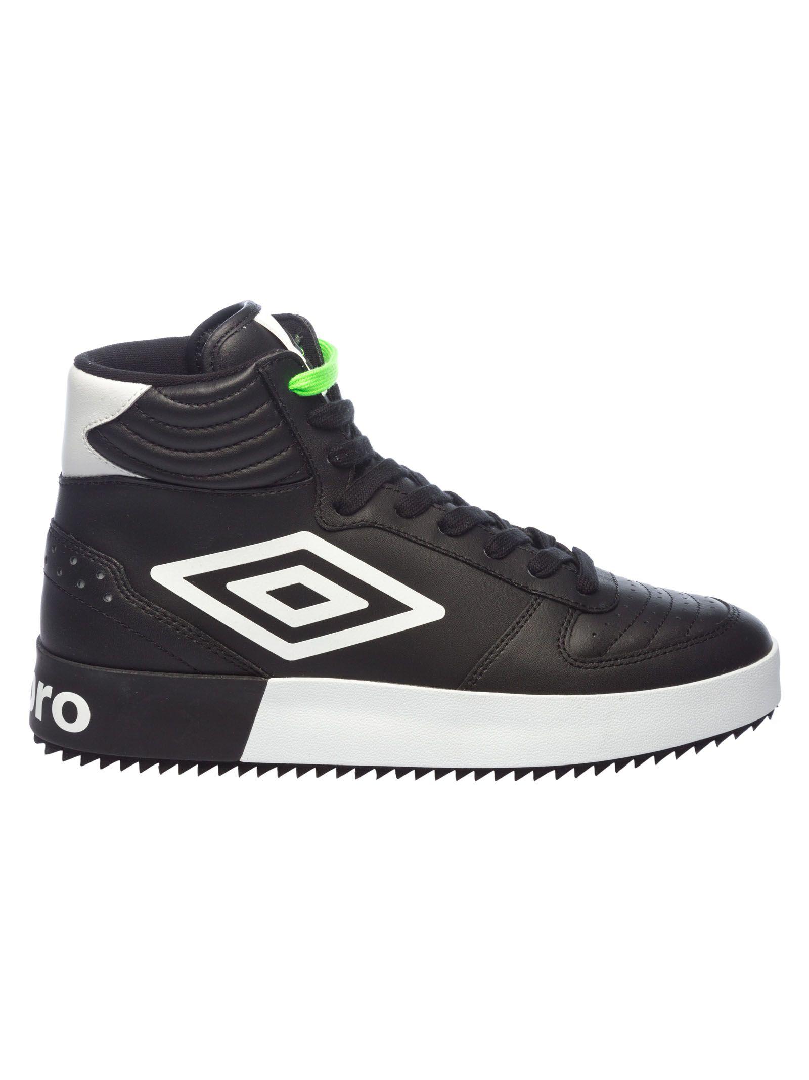 UMBRO Hi-Top Logo Sneakers in Black