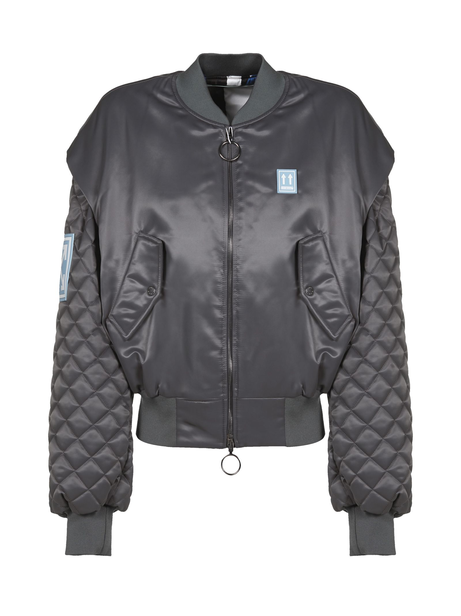 Off-white Quilted Bomber
