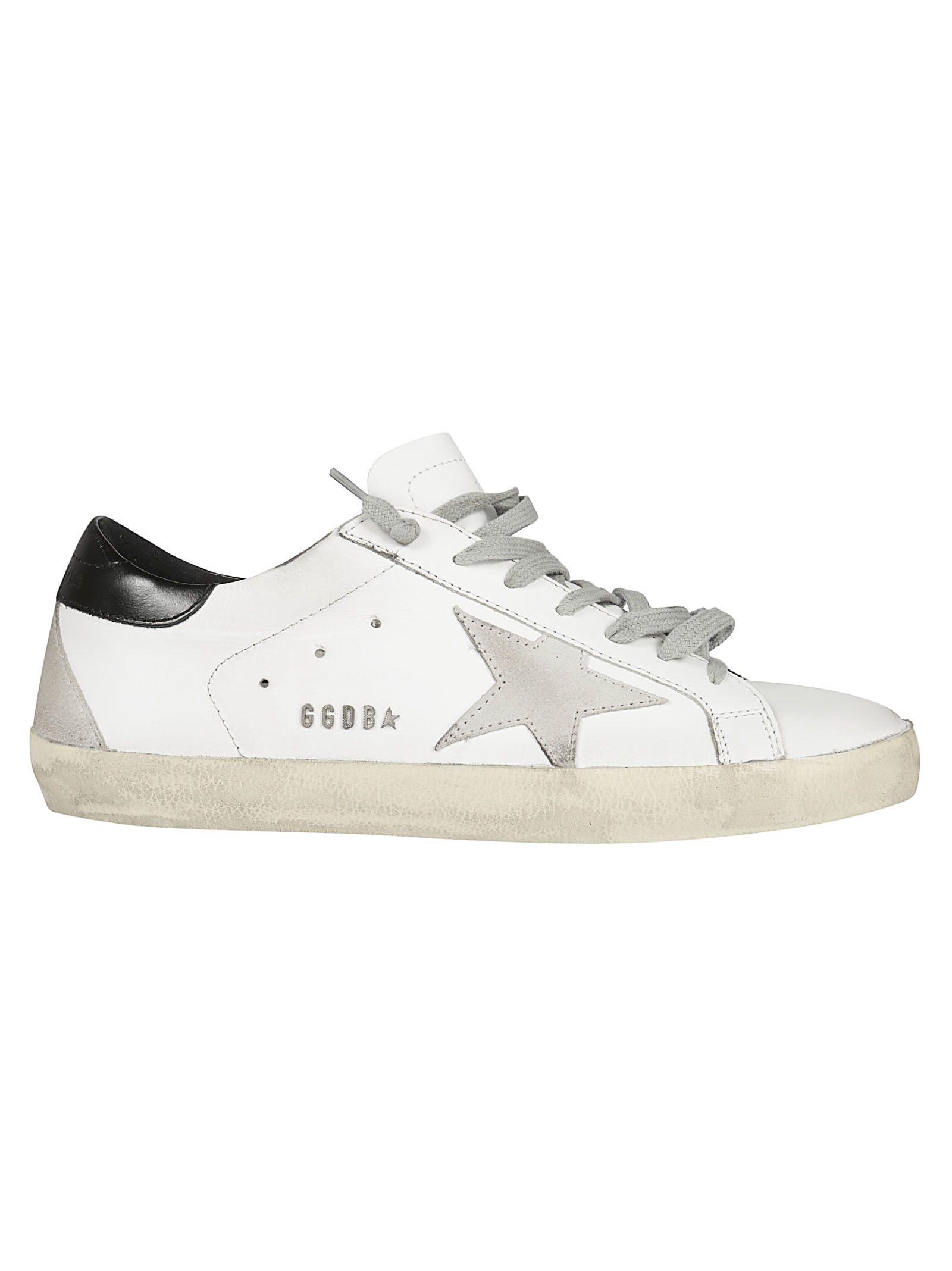 GOLDEN GOOSE Deluxe Brand Superstar Low-Top Sneakers, White Cord Gum