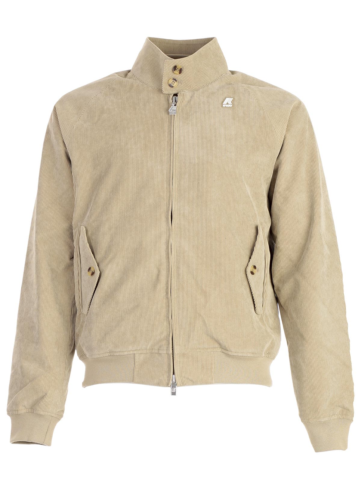 K-WAY CORDUROY BOMBER