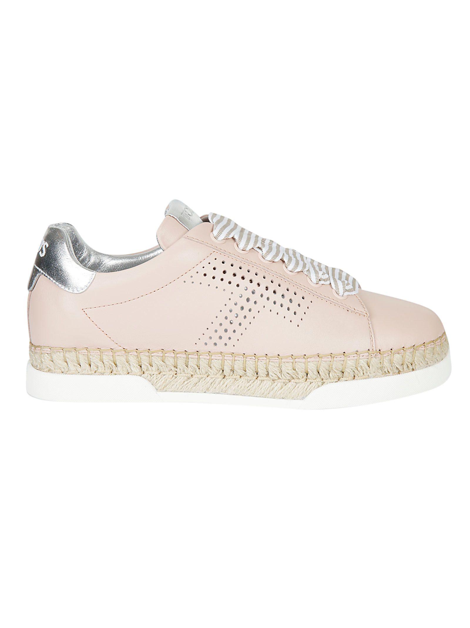 Tod's Lace up espadrille sneakers en6pjANBwK