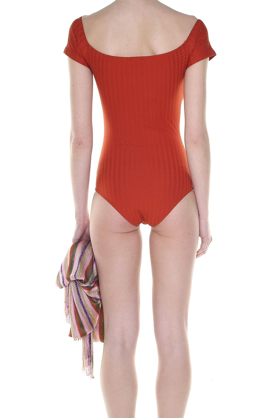 Helo fishbone off-the-shoulder swimsuit Mimì à la Mer Quality Free Shipping For Sale Clearance Store Outlet With Credit Card hqUMOVsRw