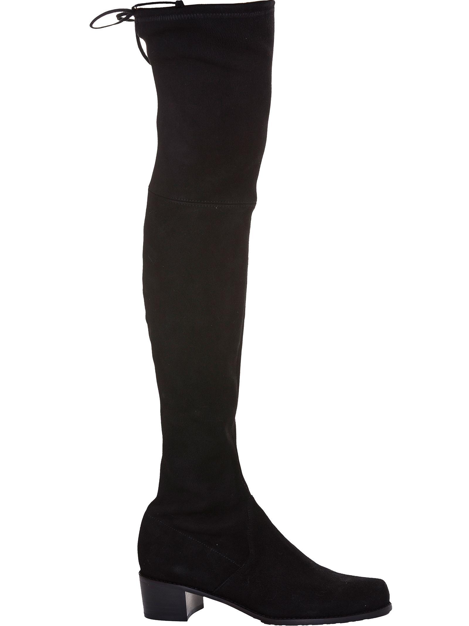 Midland Suede Boots, Nero