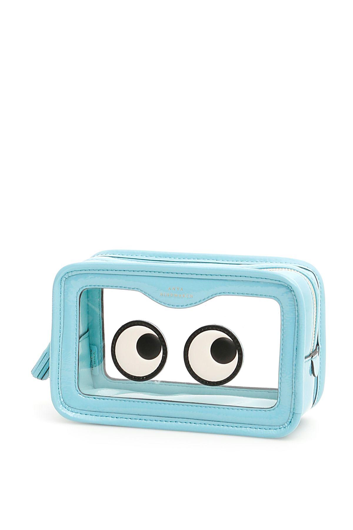 Rainy Day Eyes Make Up Pouch in Aquamarine