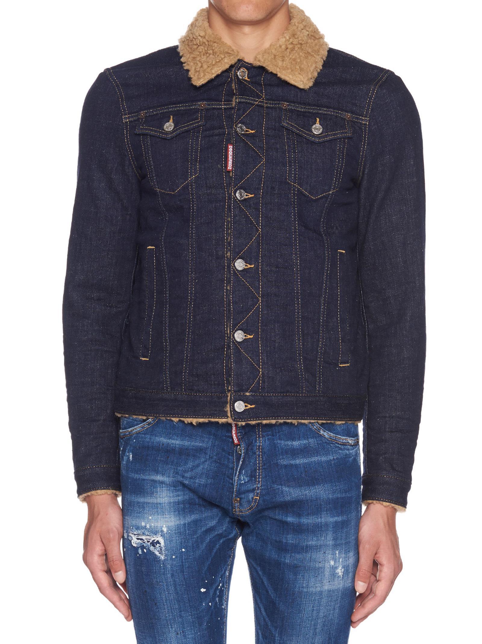 Dsquared2 'dan Jean Jacket' Jacket