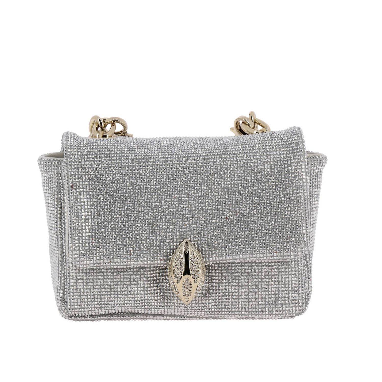 F.E.V. BY FRANCESCA E. VERSACE F.E.V. By Francesca E. Versace Mini Bag Shoulder Bag Women F.E.V. By Francesca E. Versace in Silver