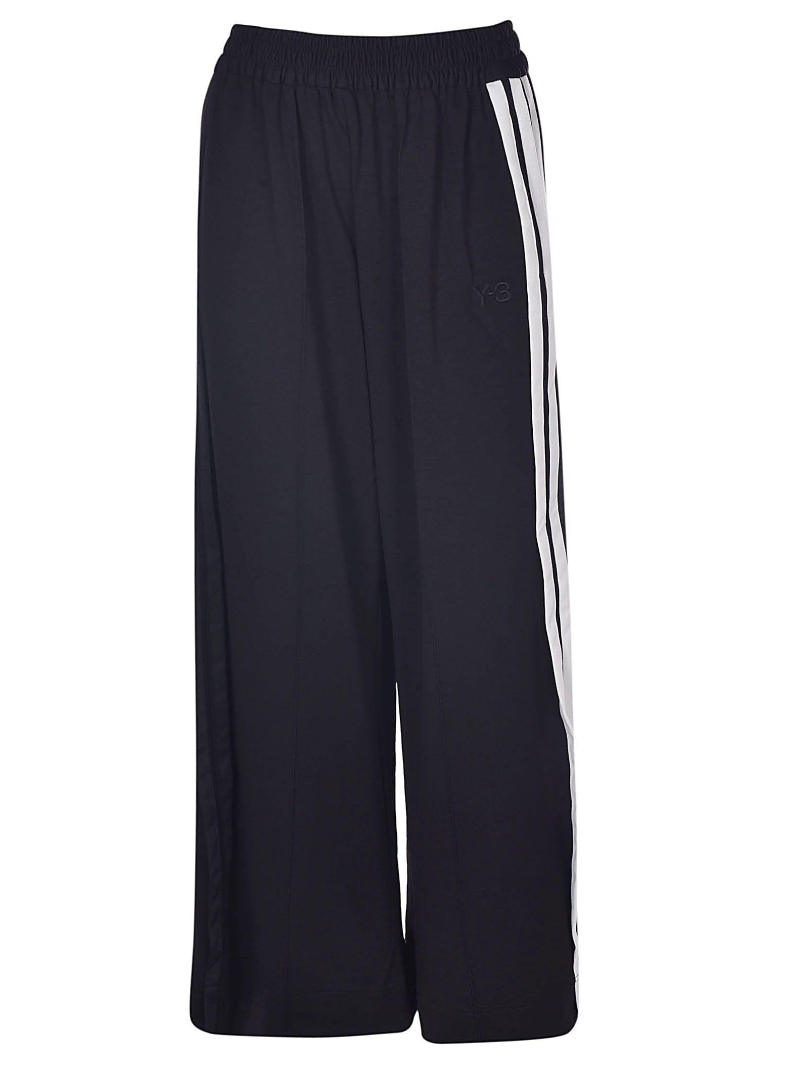 y-3 -  Wide Leg Track Pants