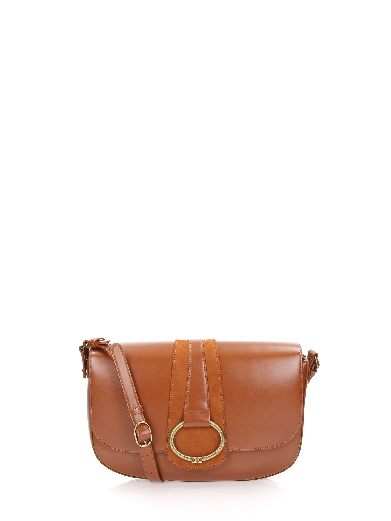 Ring Crossbody in Brown