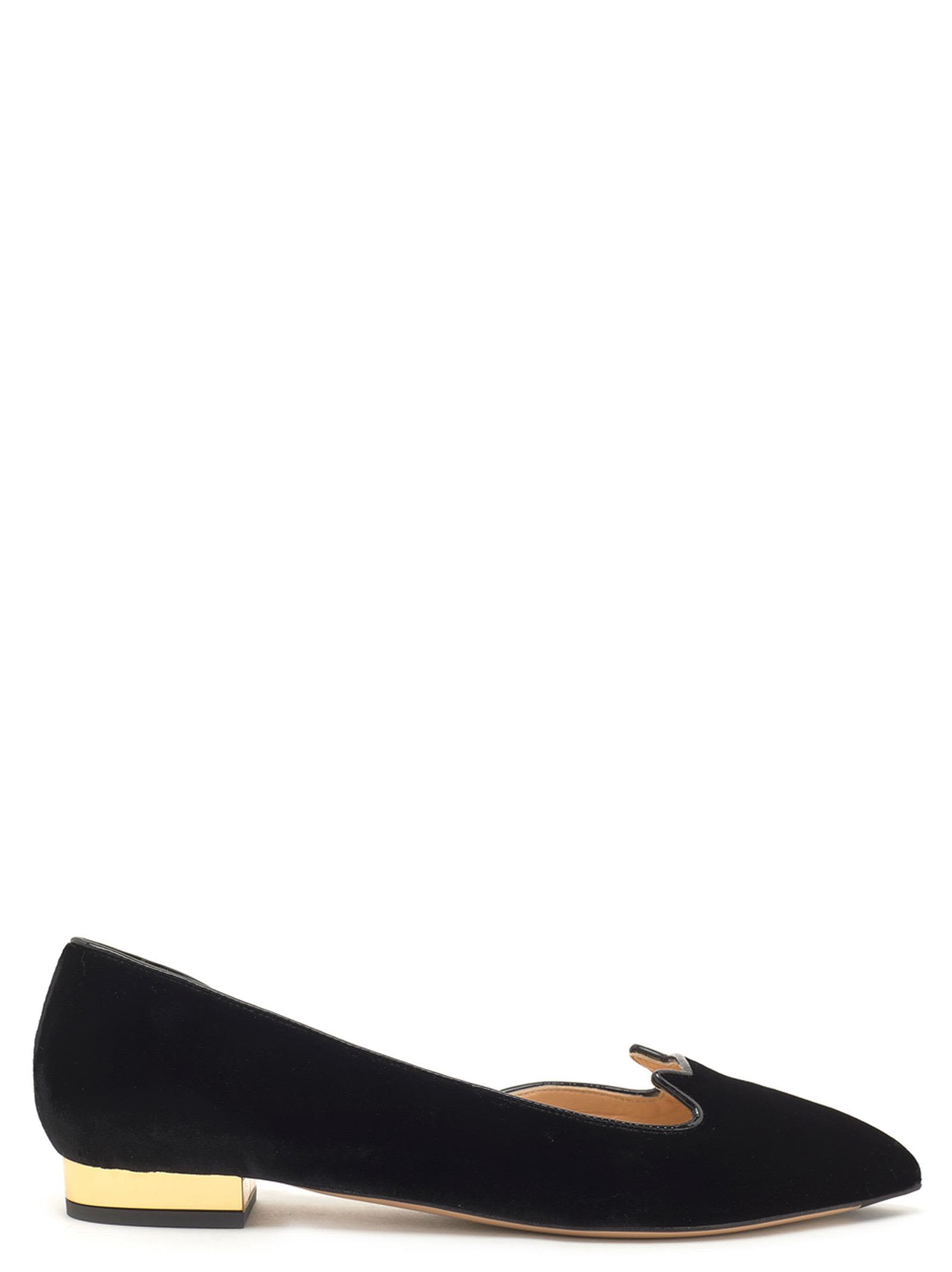 CHARLOTTE OLYMPIA Kitty Shoes, Black