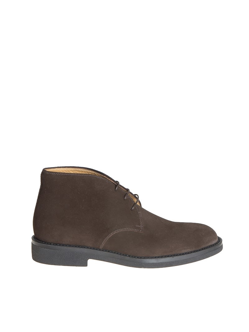 BARRETT Classic Lace Up Shoes in Brown