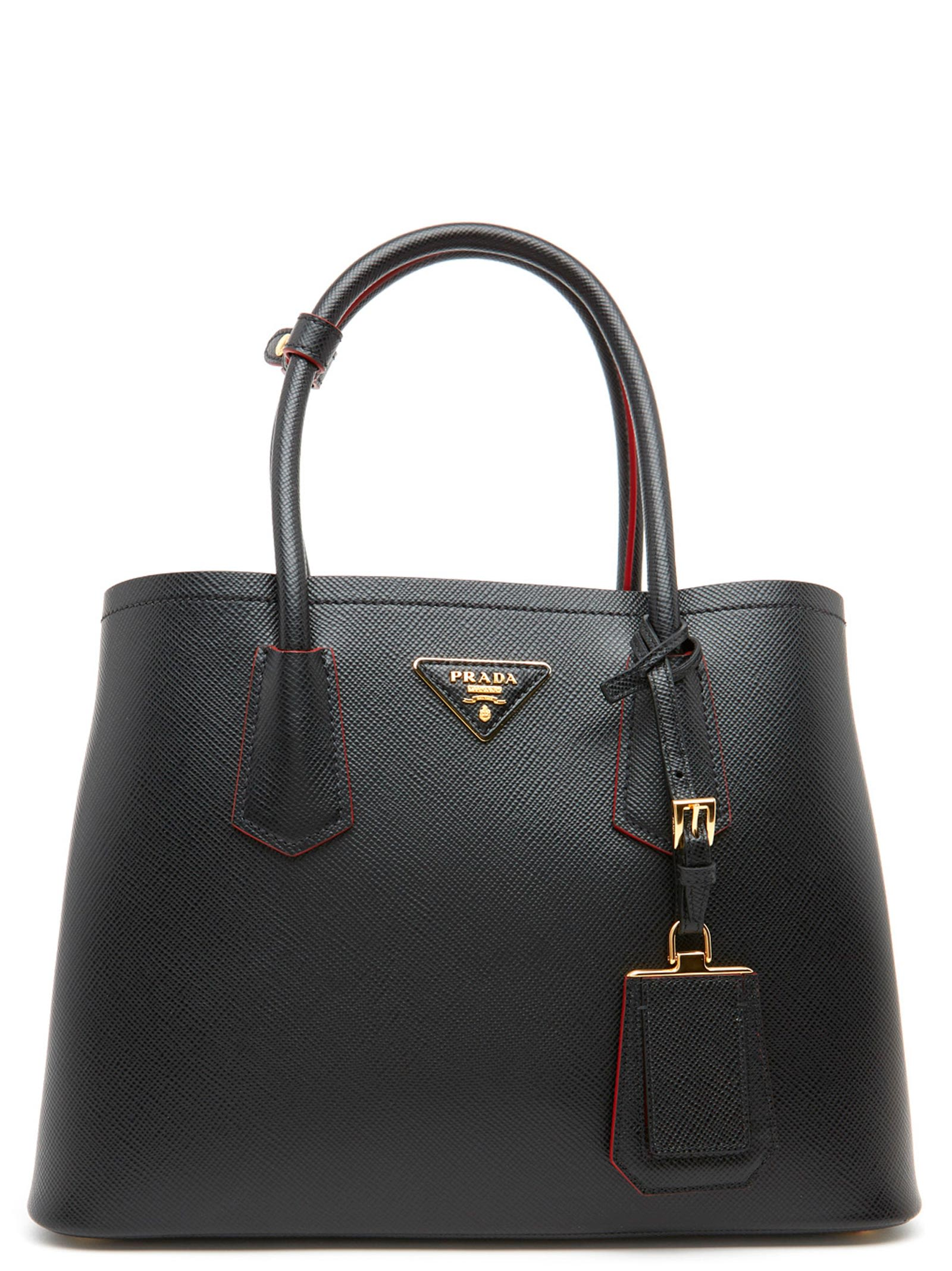 762f33757c4d Prada 'Double' Bag In Black | ModeSens