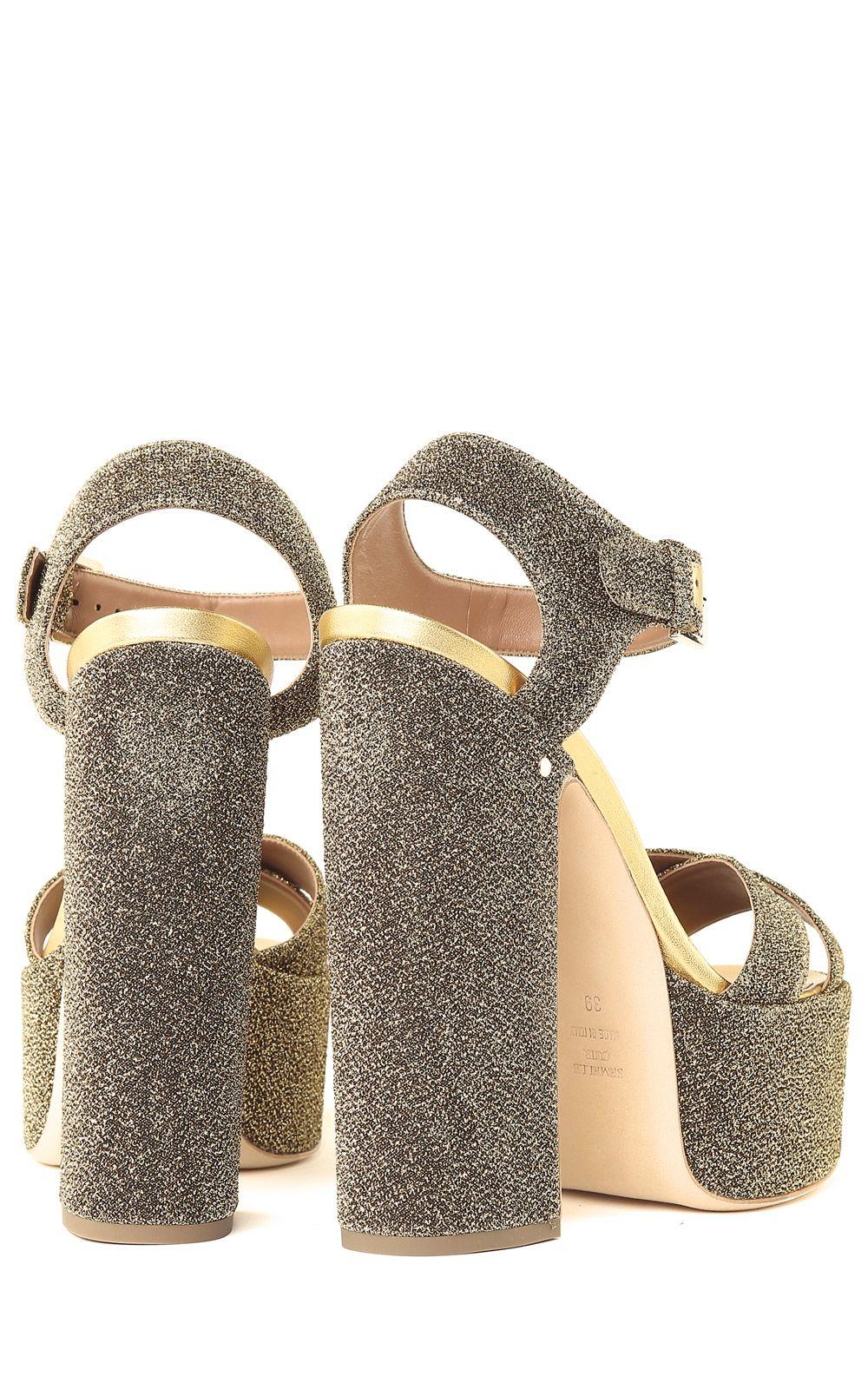 Rosella glittered sandals - Metallic Laurence Dacade wfFTz5ca
