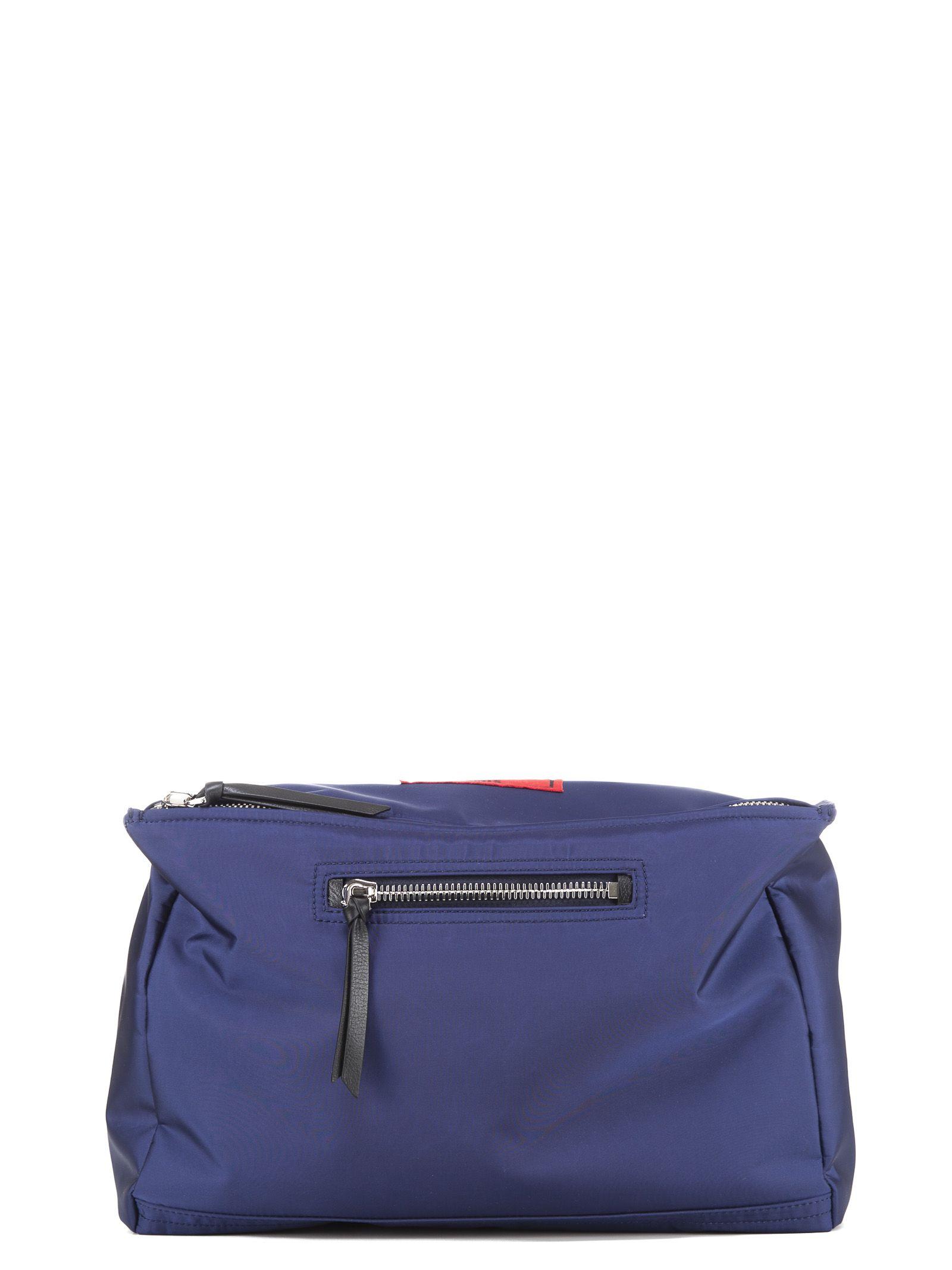 Paris Pandora messenger bag - Blue Givenchy KB7Y74VMFF
