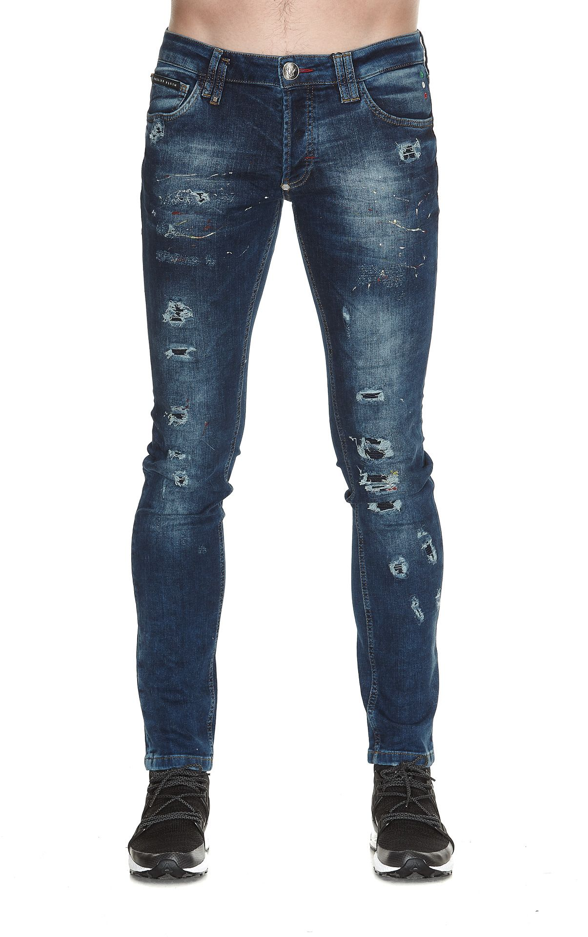 PHILIPP PLEIN STORM IN A TEACUP JEANS