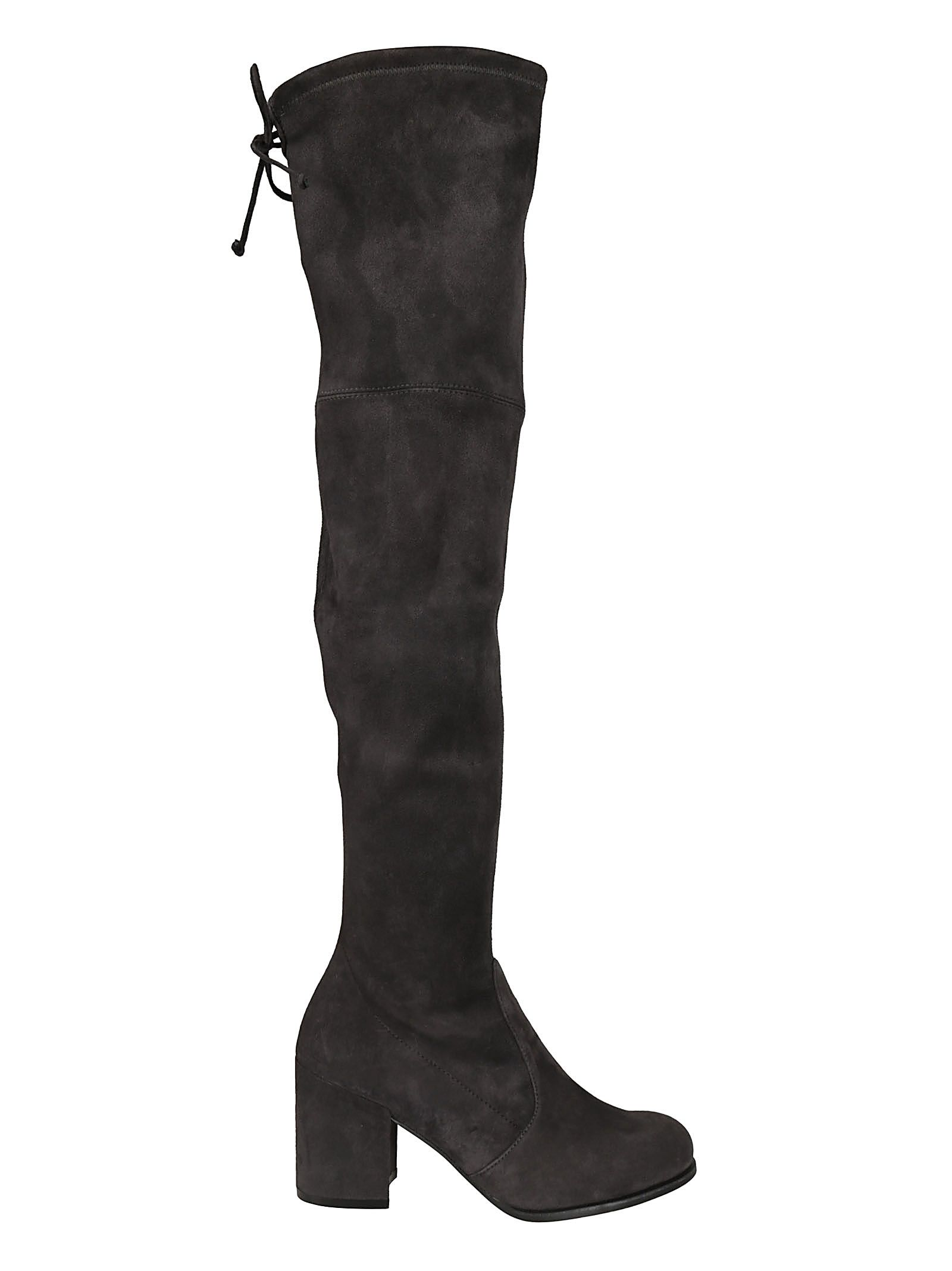 Tieland Over-The-Knee Boots in Antracite