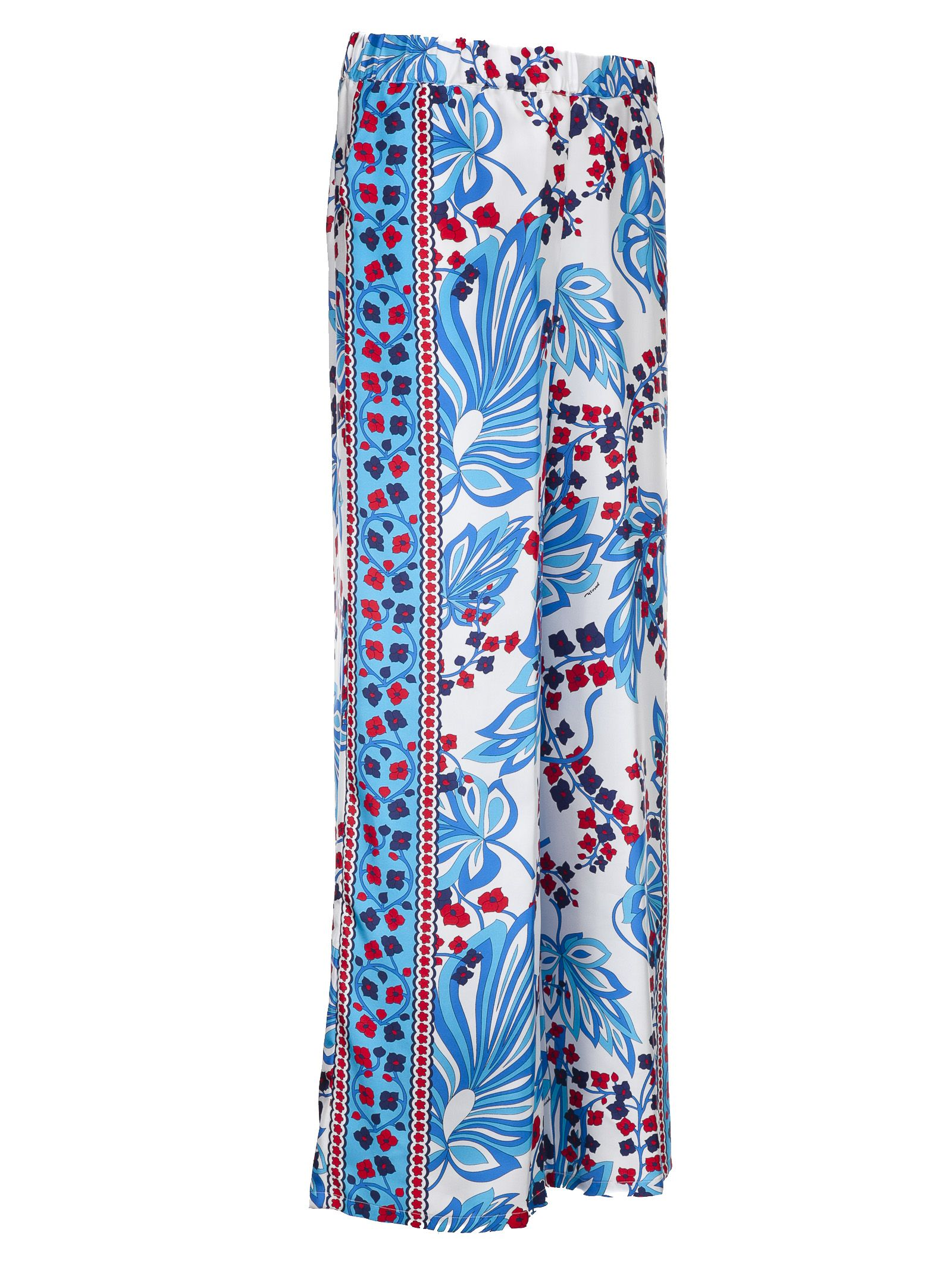 floral print trousers - Multicolour P.A.R.O.S.H. YHPkAoQ