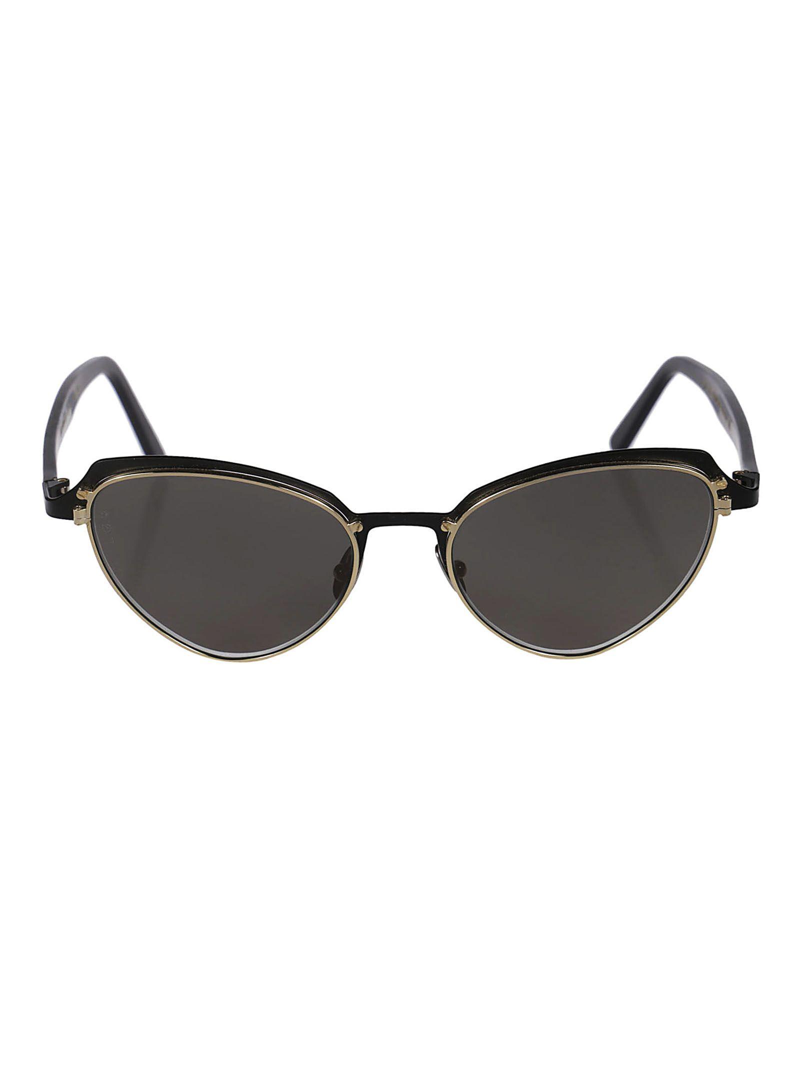 L.G.R Lgr Cat Eye Sunglasses in Black Matt