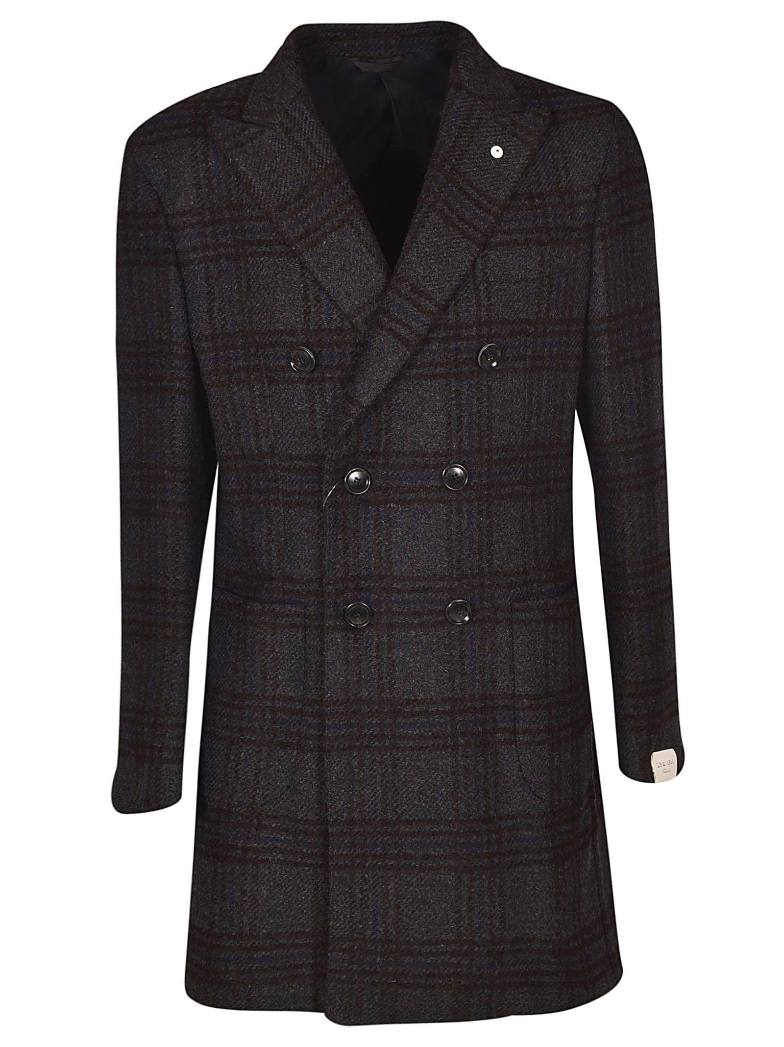LUIGI BIANCHI MANTOVA Double Breasted Coat in U