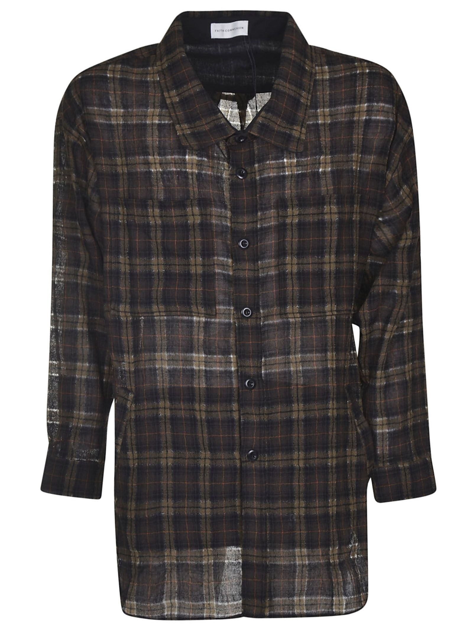 Faith Connexion Plaid Shirt