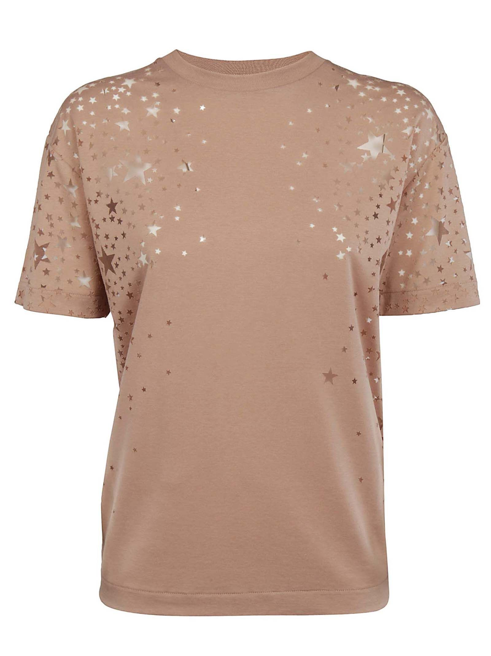 STELLA MCCARTNEY STAR CUT-OUT T-SHIRT