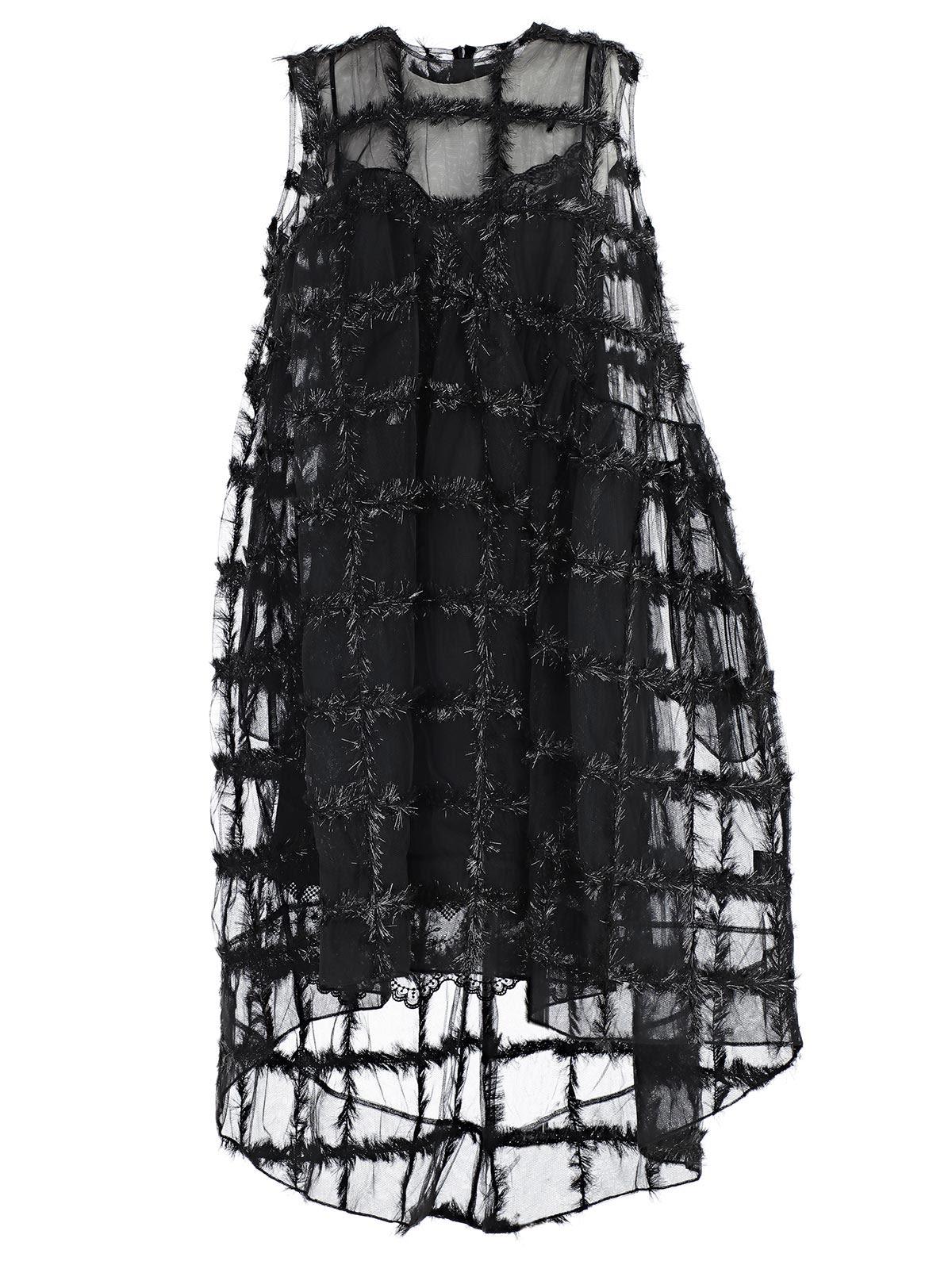 ASYMMETRIC SLEEVELESS DRESS