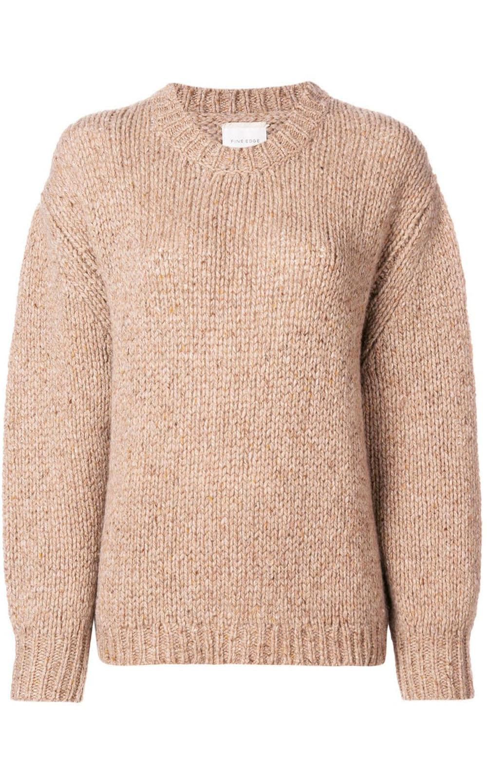 Fine Edge CASHMERE RELAXED-FIT SWEATER
