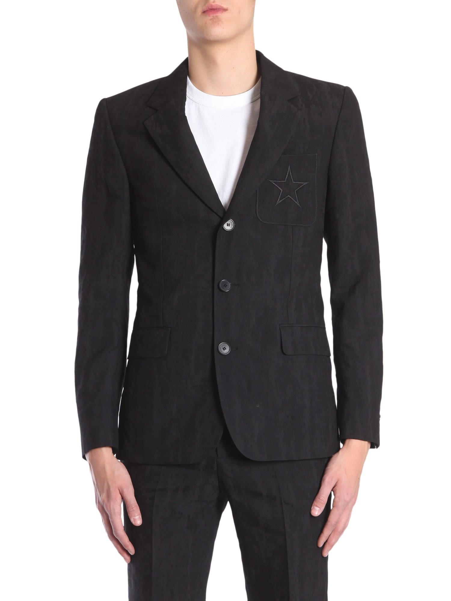 Devorè Printed Classic Jacket