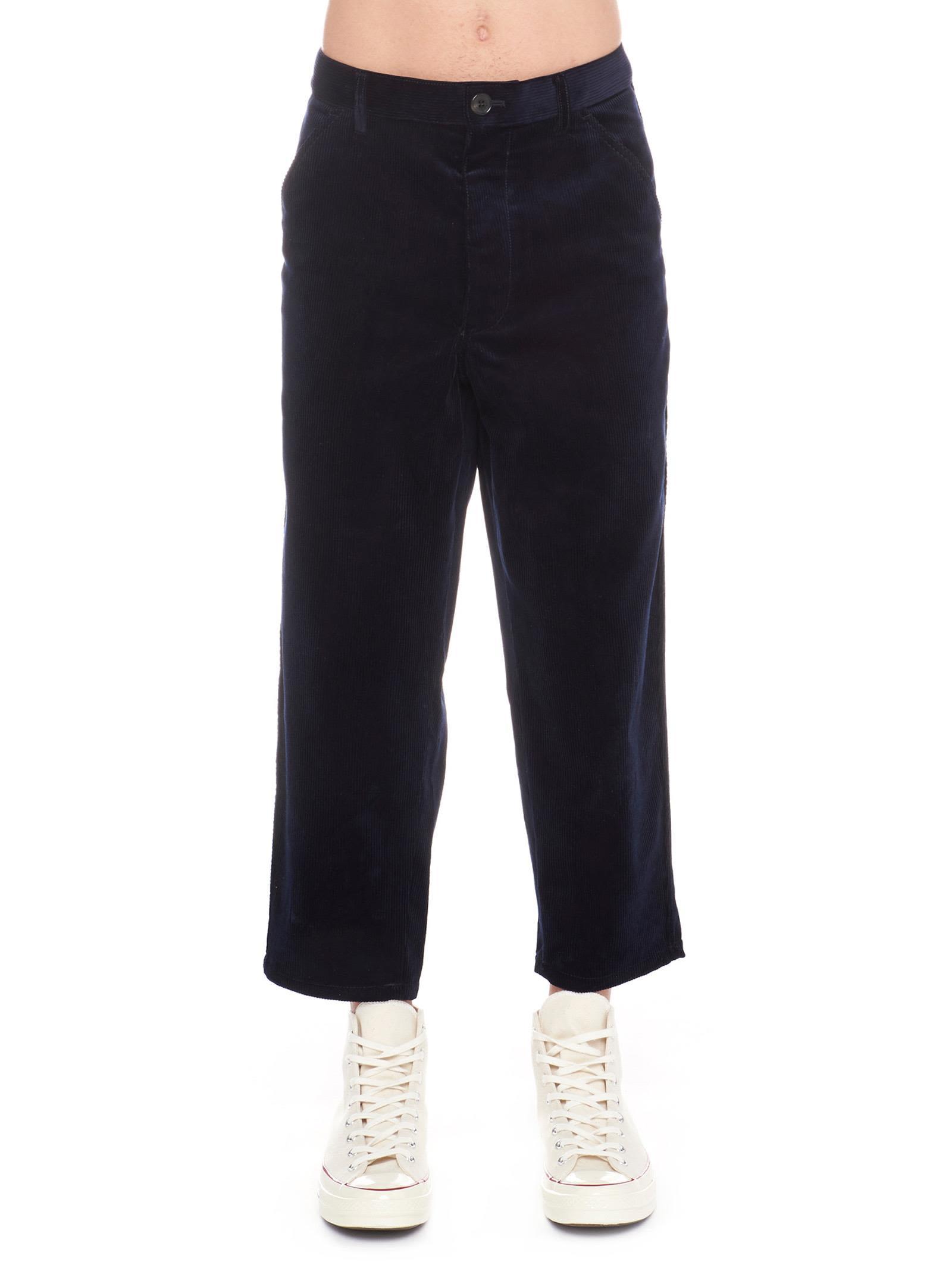 COMME DES GARÇONS BOYS Comme Des Garçons Boys Pants in Blue