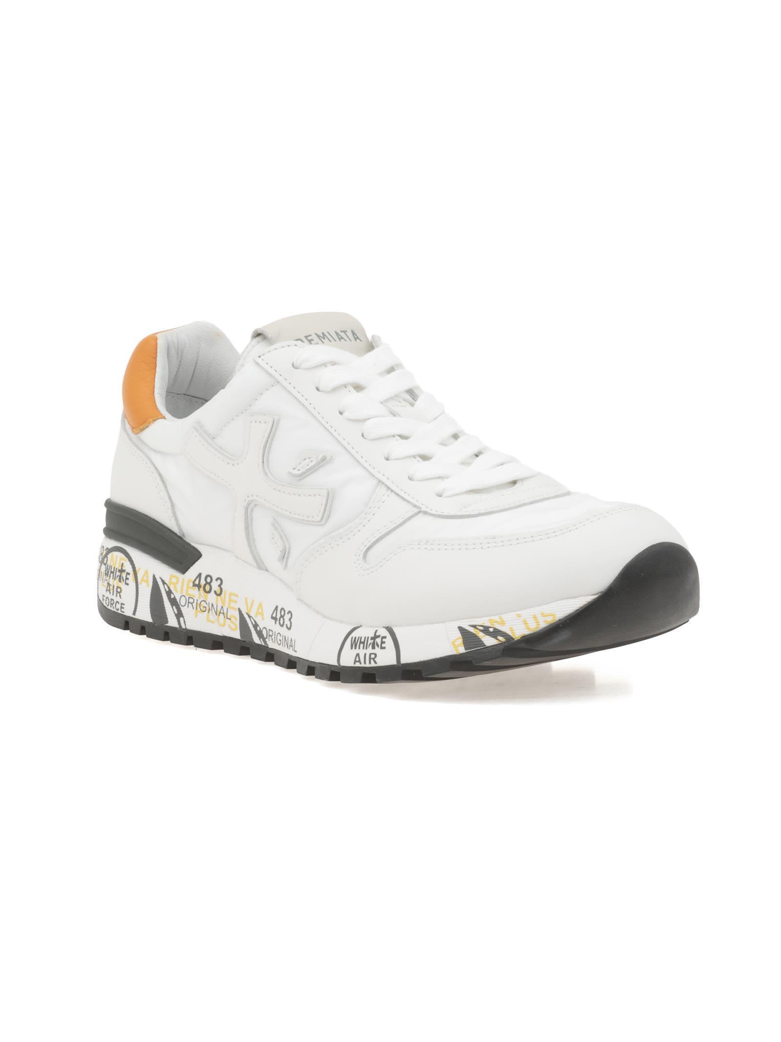 Premiata Blanc Mick 2828 Sneaker d2mJdIcSM