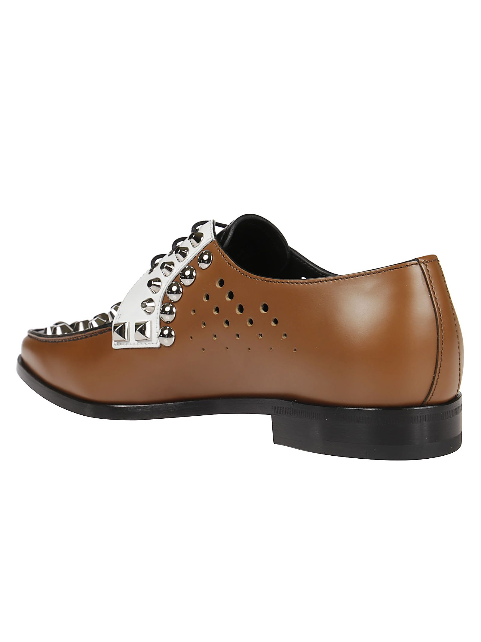 Prada Studded oxford shoes Footlocker Pictures For Sale Sale Low Shipping Fee 2fSqTT