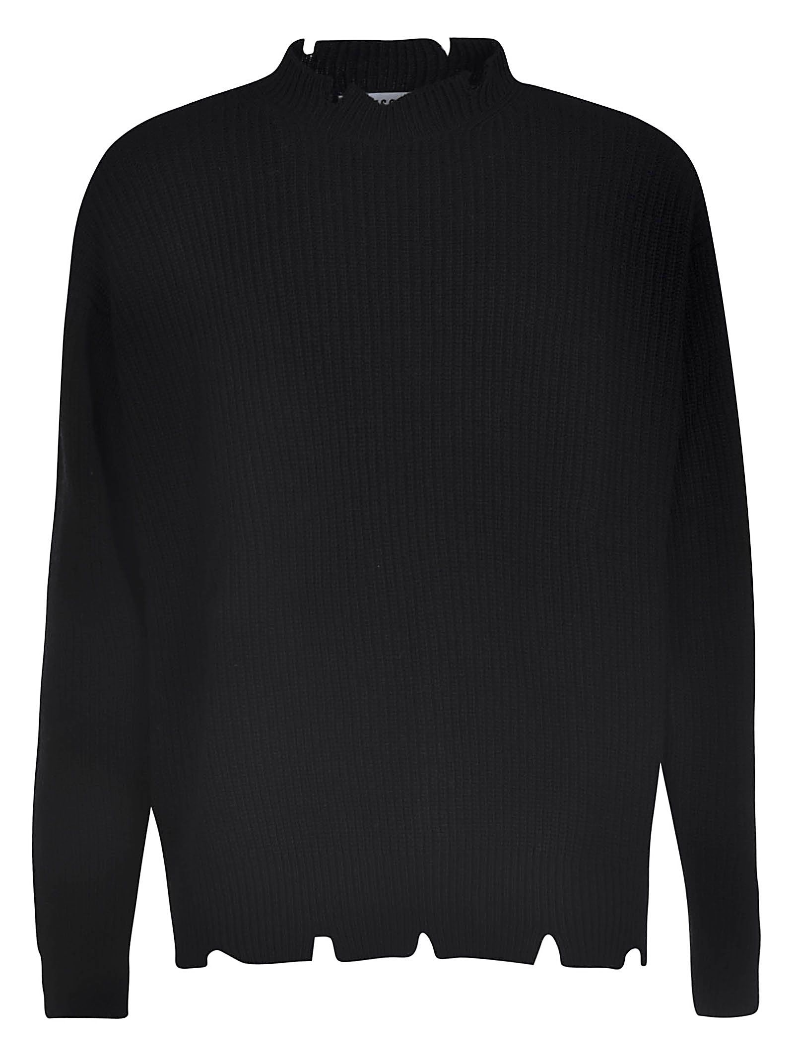 Msgm Ribbed Knit Jumper