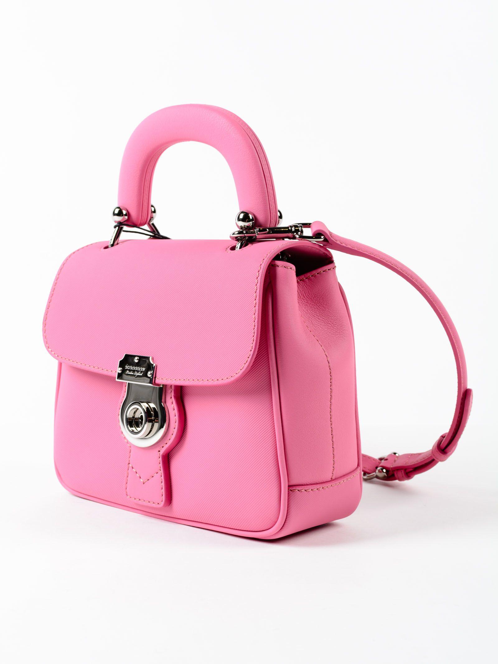 burberry bag pink