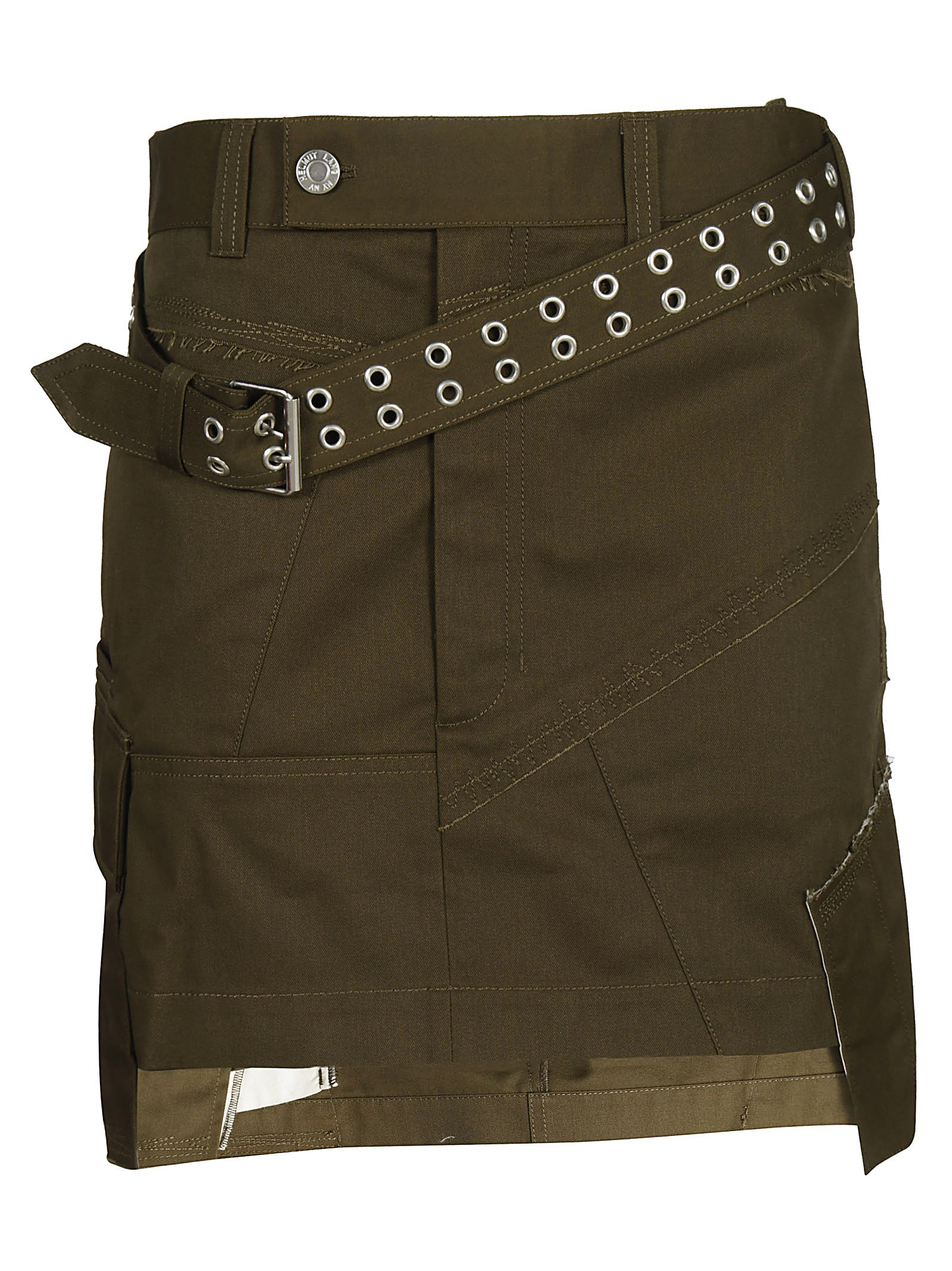 MILITARY PATCH SKIRT