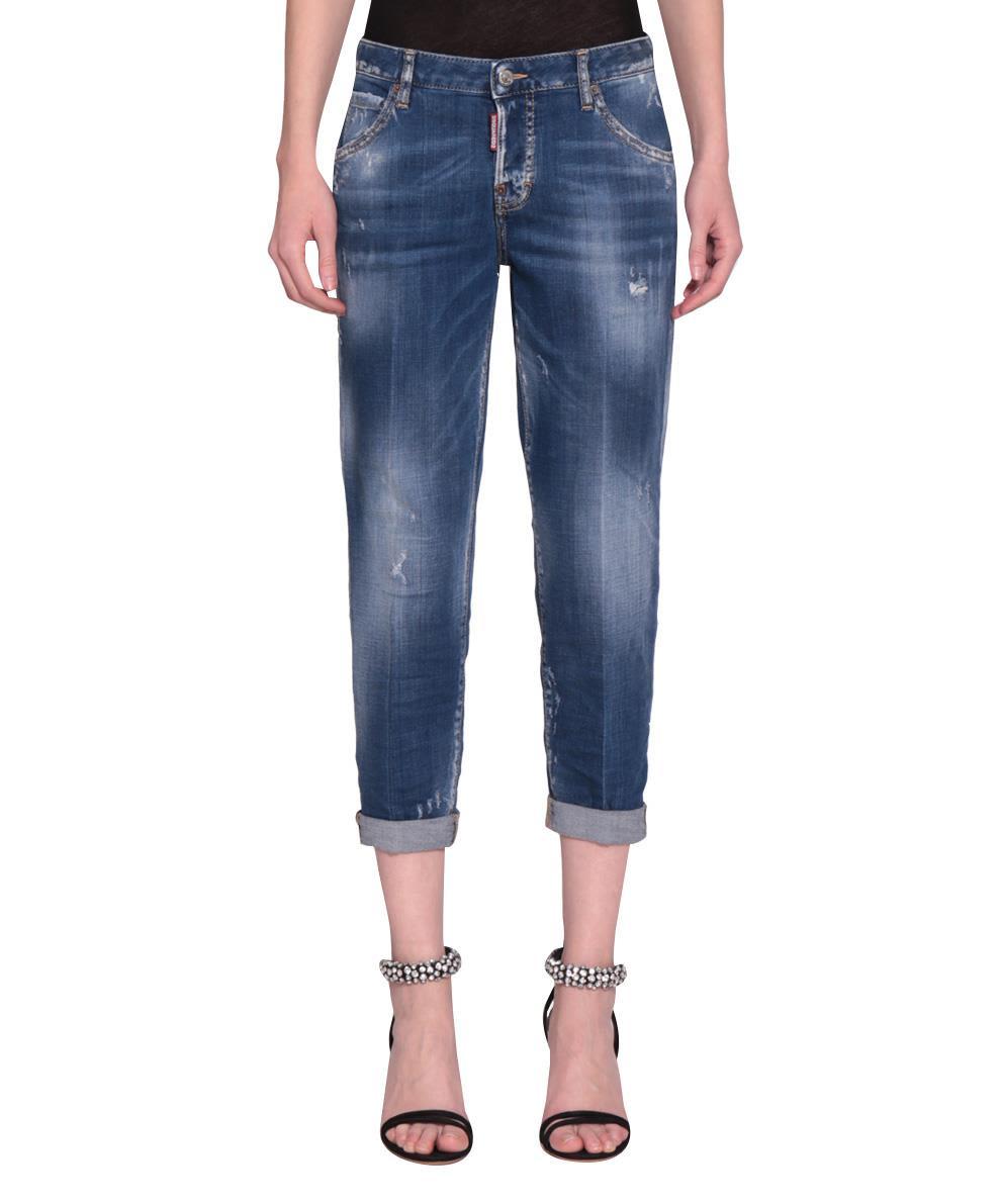 Dsquared2 Hockeny Cotton Denim Jeans 10616090