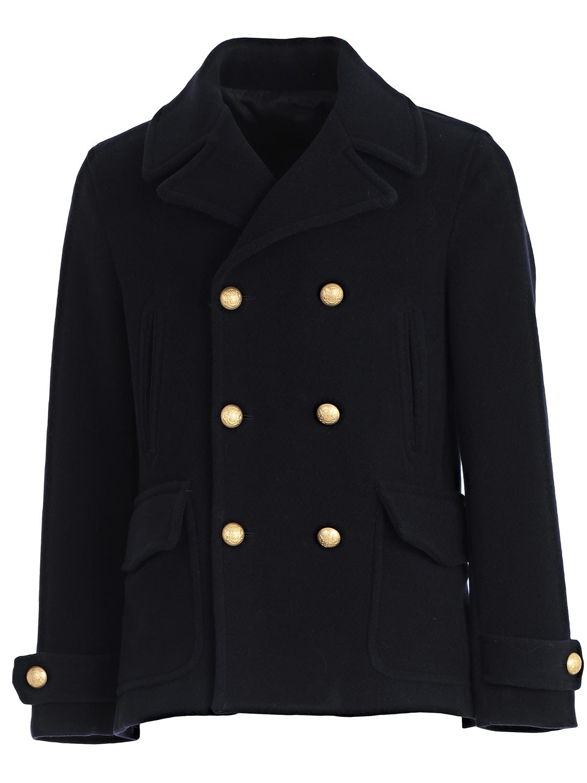 BRIAN DALES DOUBLE BREASTED PEA COAT