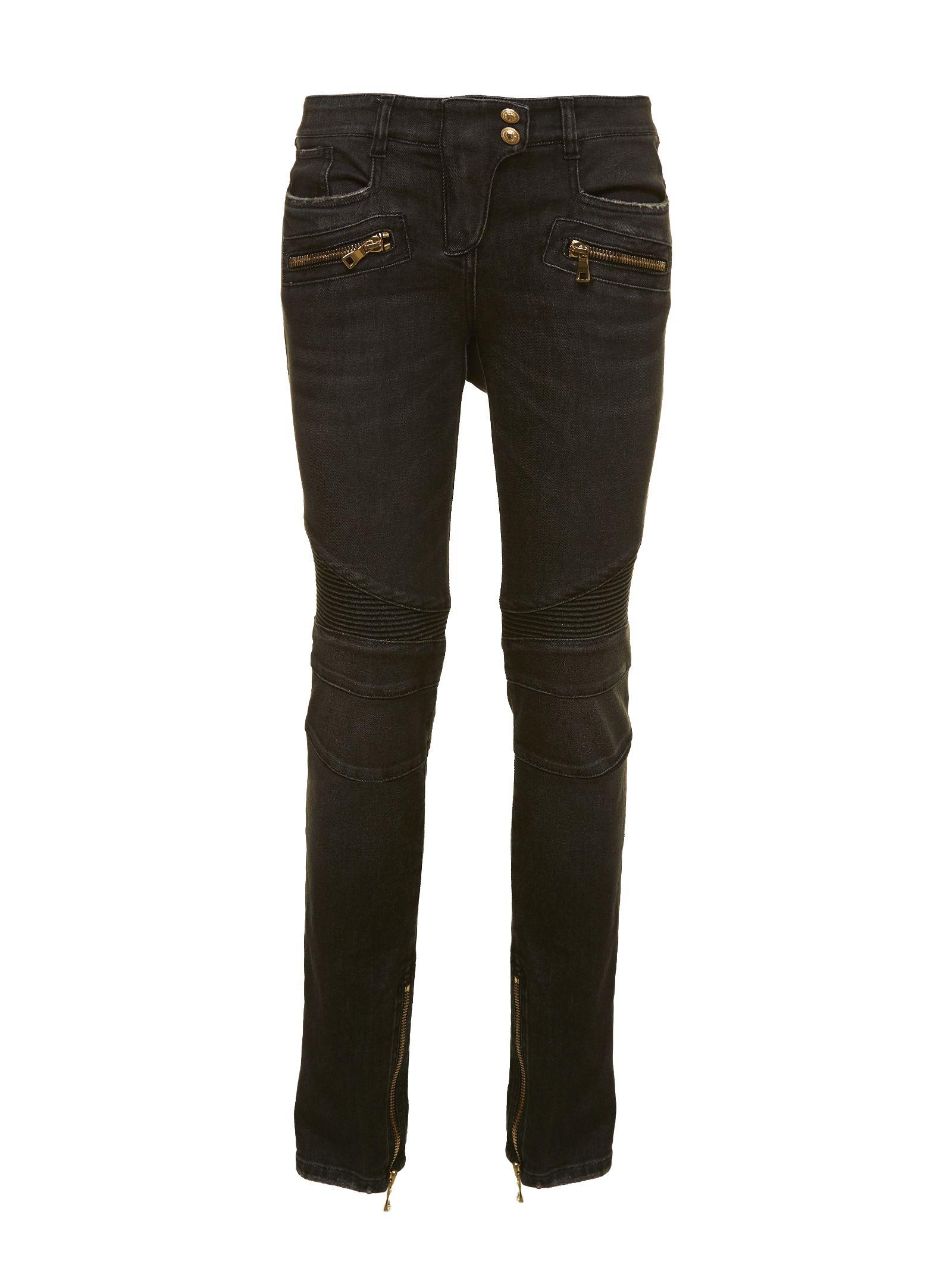 Balmain Zip Jeans