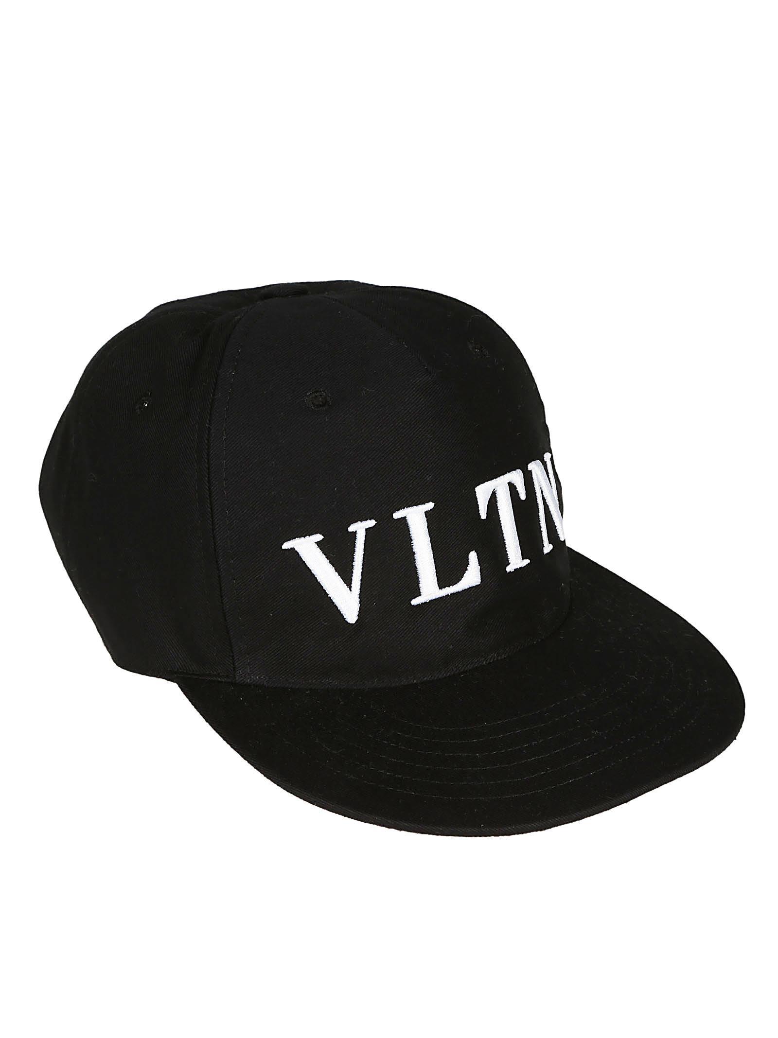 bec97f326bd Valentino Vltn Logo Cap - Black ...