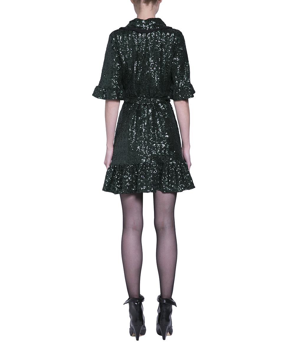 244ca3f6 italist   Best price in the market for Amen Amen Wrap Dress - Verde ...