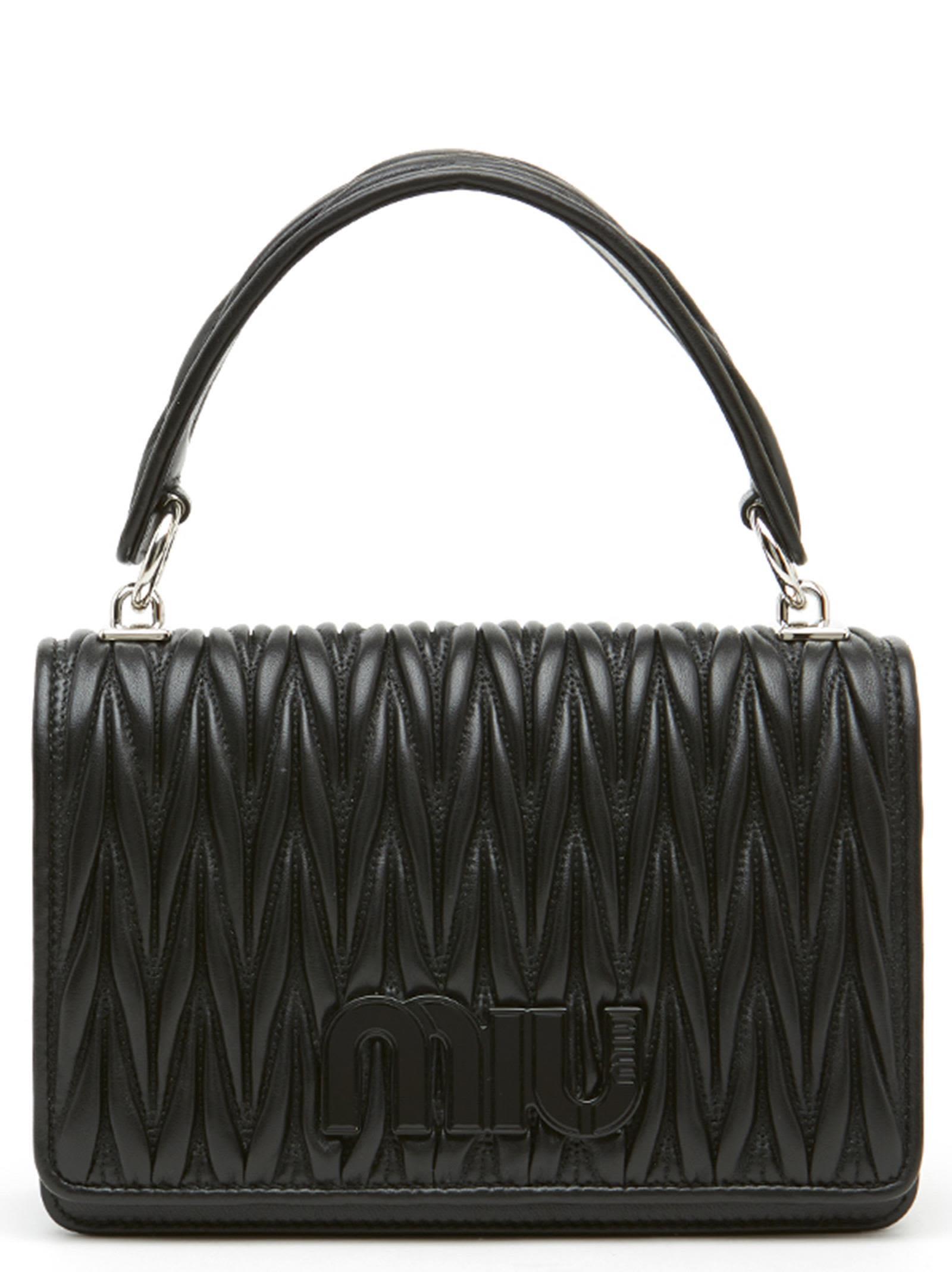 41cabe9b61b Miu Miu Bag - Black ...