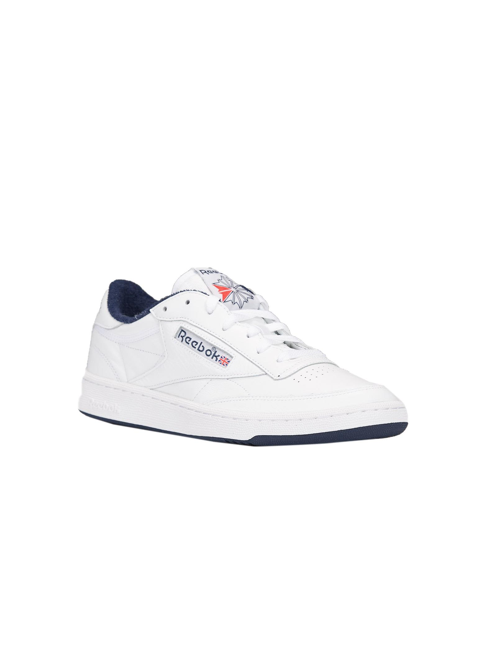 6bc0b1fbd49fb ... Reebok Club C 85 Archive Sneakers - Bianco blu ...