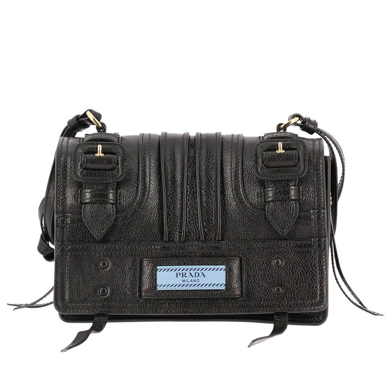 eeecabe61e Prada Mini Bag Shoulder Bag Women Prada - black ...