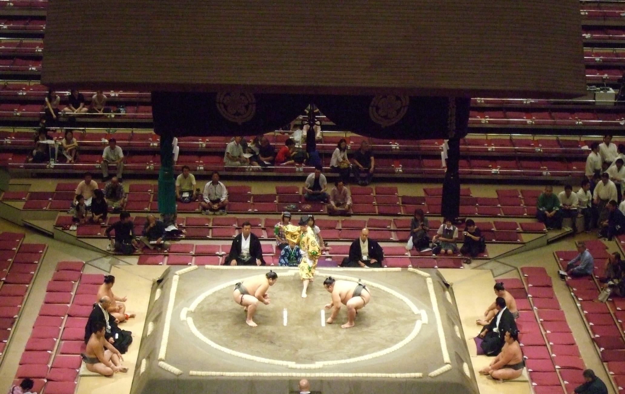 Ryogoku Kokugikan -sumo stadium