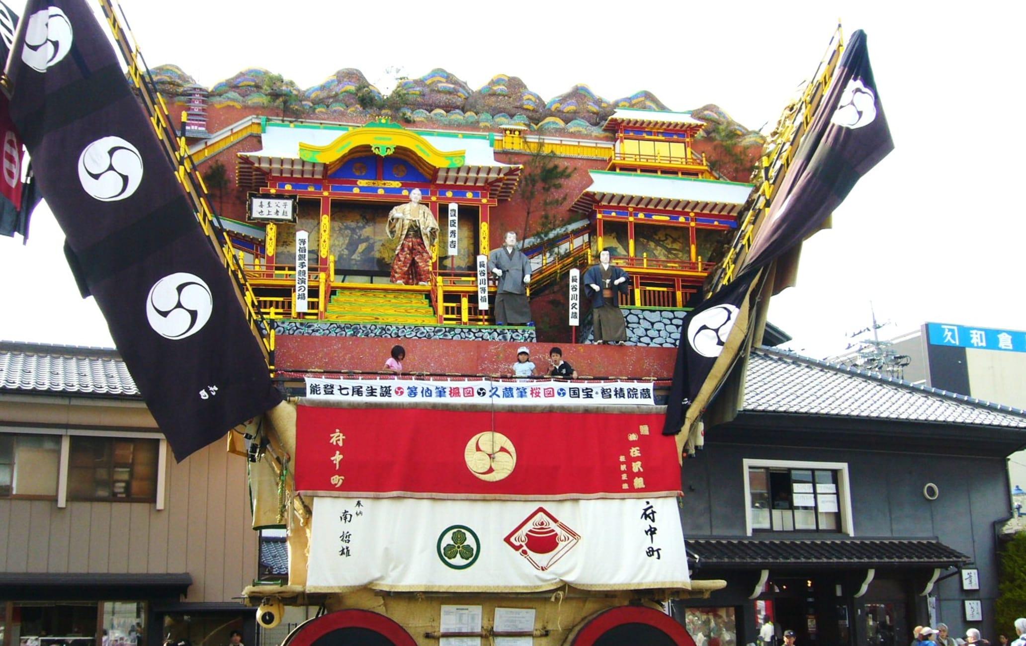 DEKAYAMA Giant Mountains The largest floats of Japan's festival