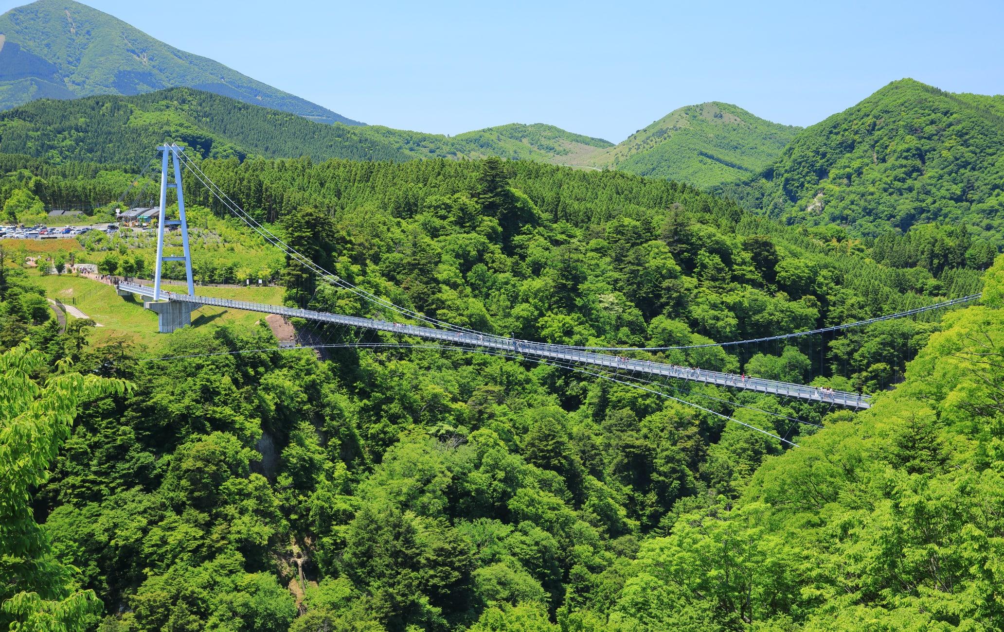 Kokonoe Yume Grand Suspension Bridge