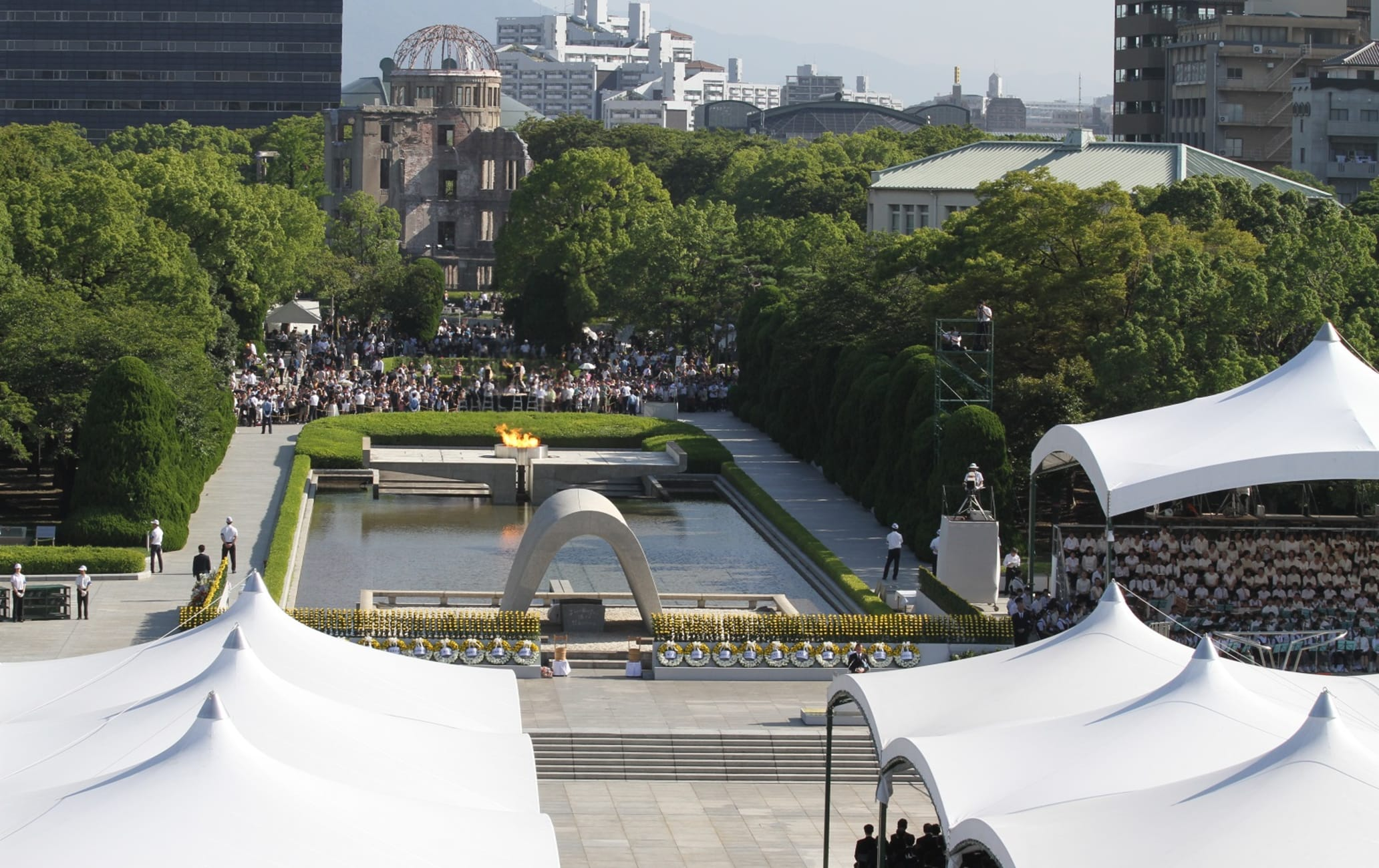 Hiroshima Peace Memorial Ceremony