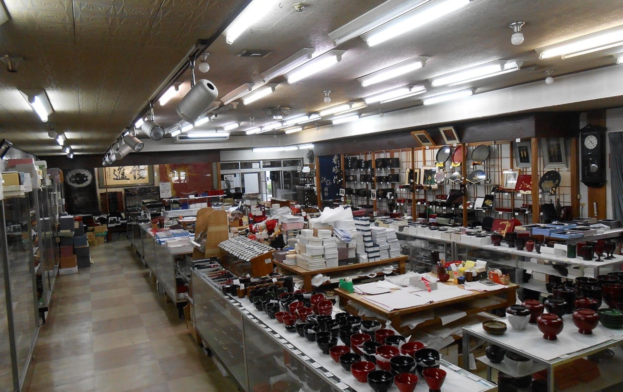 Aizu Lacquerware Suzutake workshop