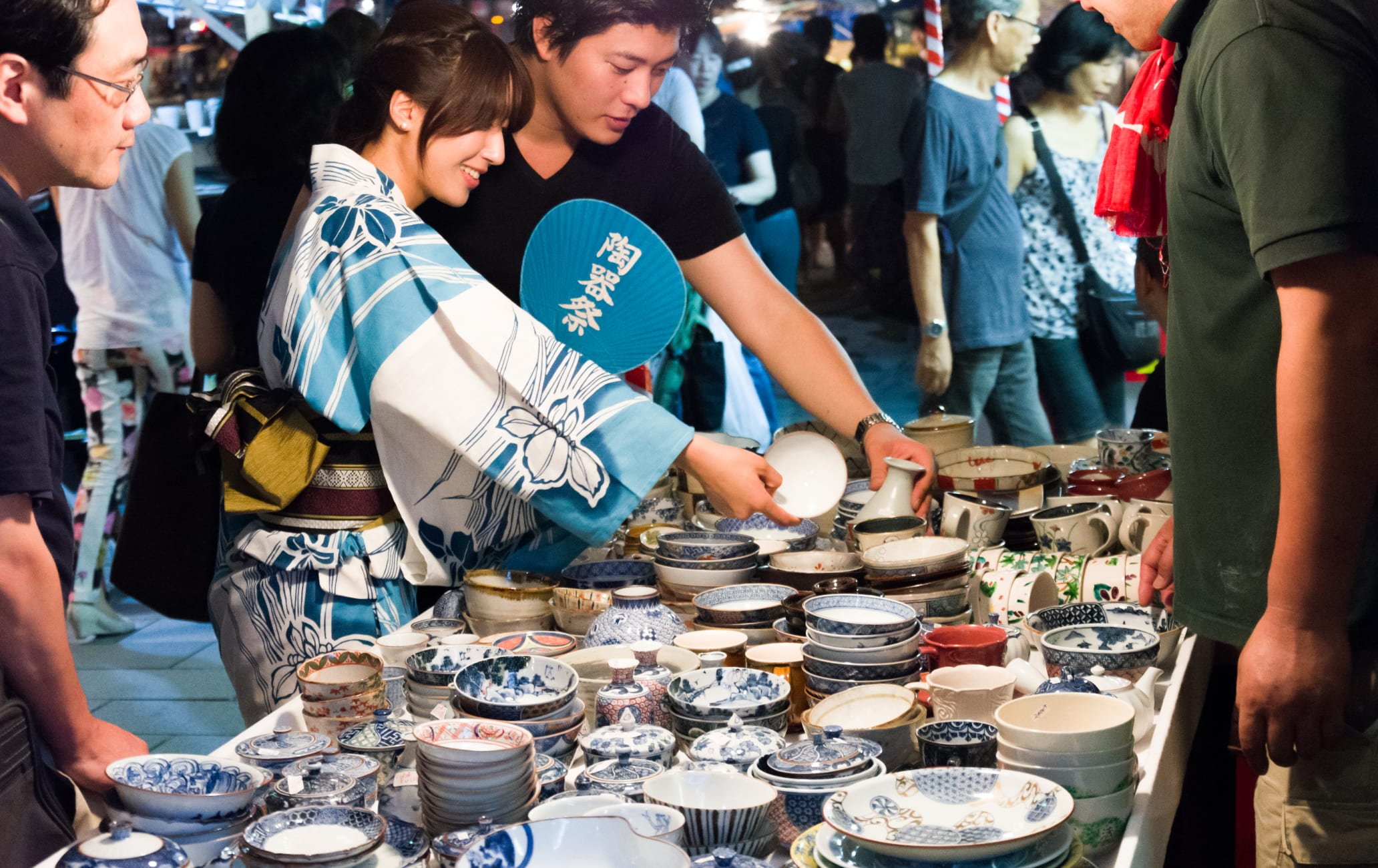 Gojozaka Pottery Fair